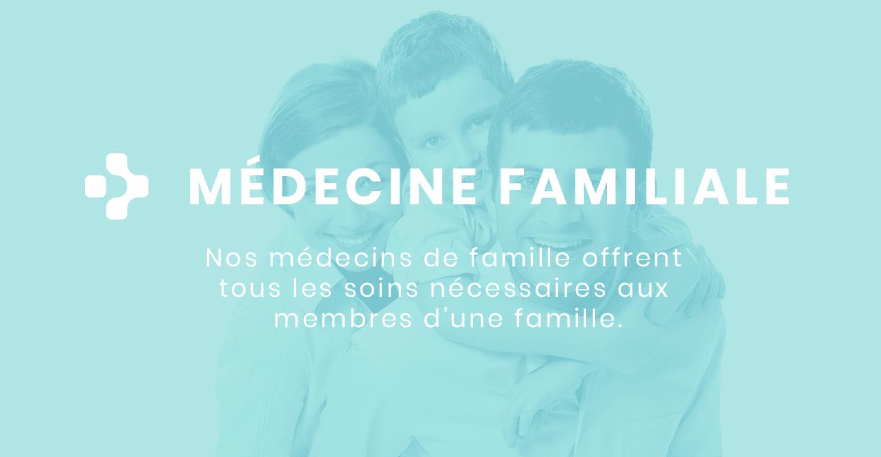 La clinique médicale Pure se spécialise dans la médecine de famille