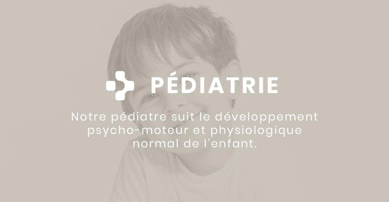 La pédiatrie est un des principaux services de la clinique Pure